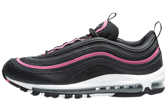137ecb0d8f2c4 If you are in love with the Nike Air Max 97 LUX Black Pink, be sure to head  to the links on this page to shop the silhouette today. UK true DD/MM/YYYY