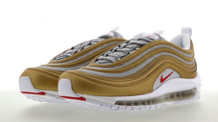 100% authentic 746a7 c7fa0 Nike Air Max 97 Metallic Gold Silver | BV0306-700