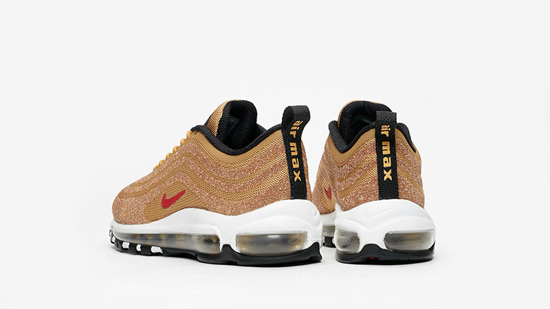 separation shoes 0077d bc01e Nike Air Max 97 Swarovski Gold Womens | 927508-700