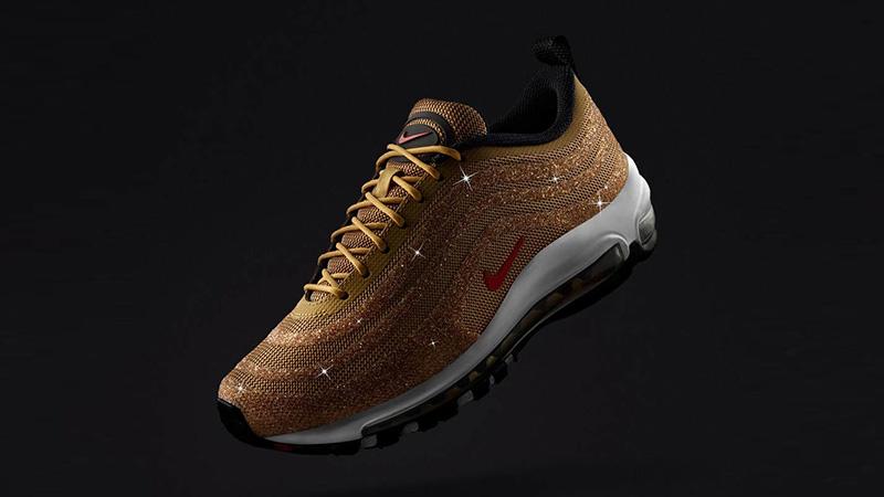 Nike Air Max 97 Swarovski Gold Womens 927508-700 03 b95a3ae2fc