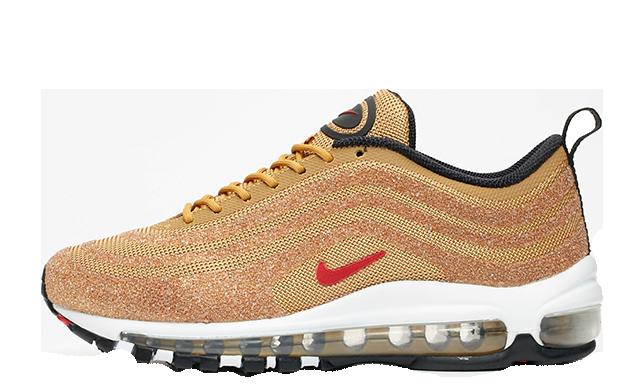 separation shoes a0525 af1b5 Nike Air Max 97 Swarovski Gold Womens | 927508-700