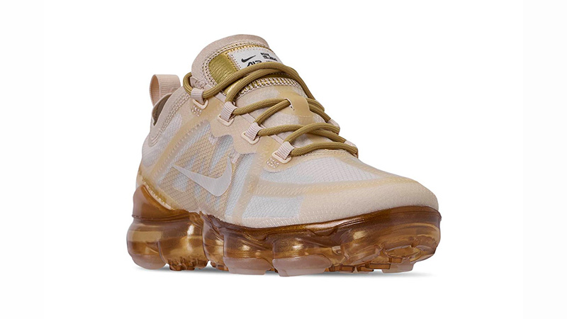 new style big discount super popular Nike Air VaporMax 2019 White Gold | AR6632-101