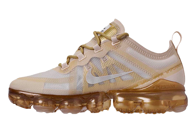 Nike Air VaporMax 2019 White Gold AR6632-101