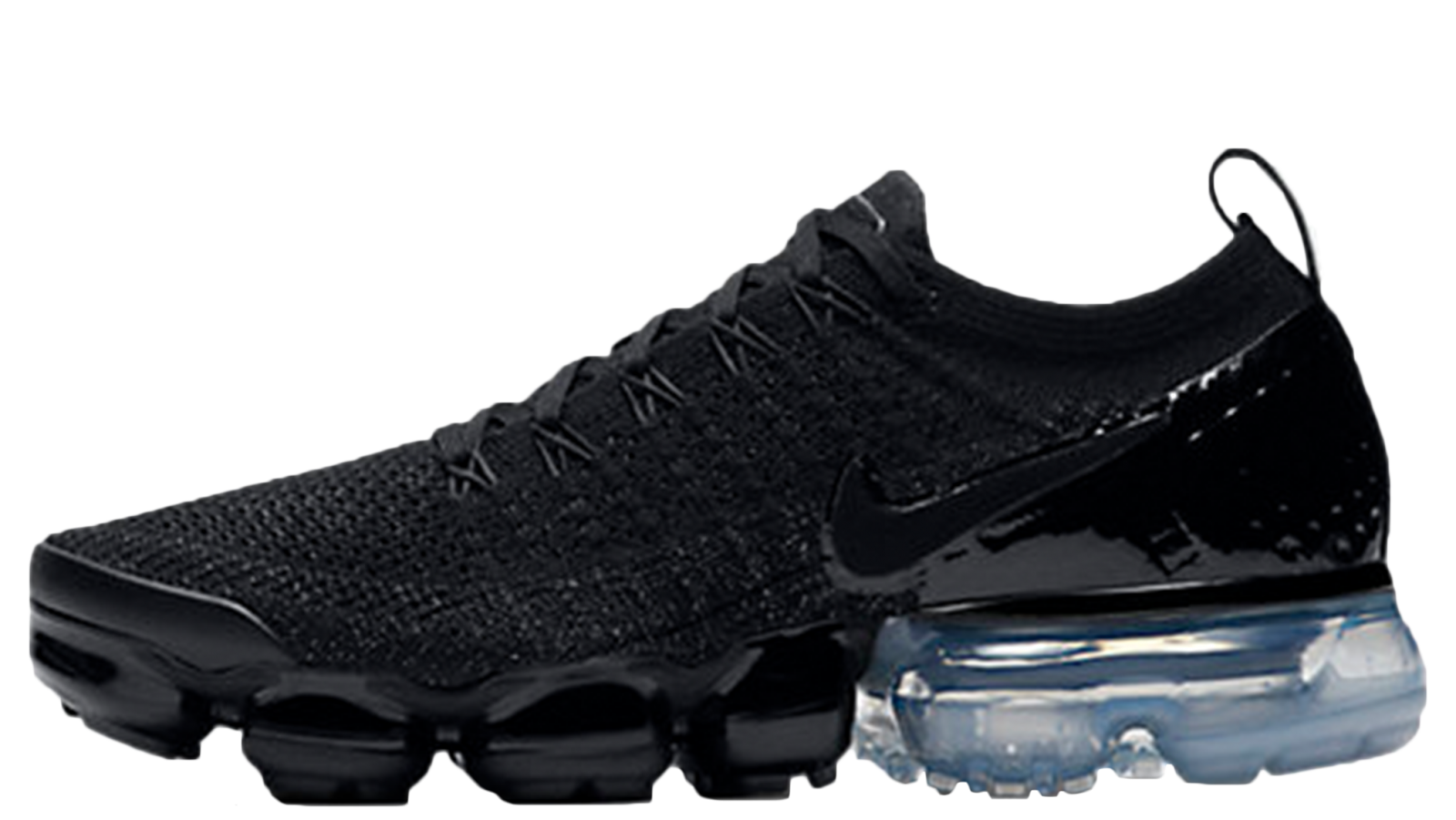 Nike Air VaporMax Flyknit 2 Black Metallic Silver | 942843-014
