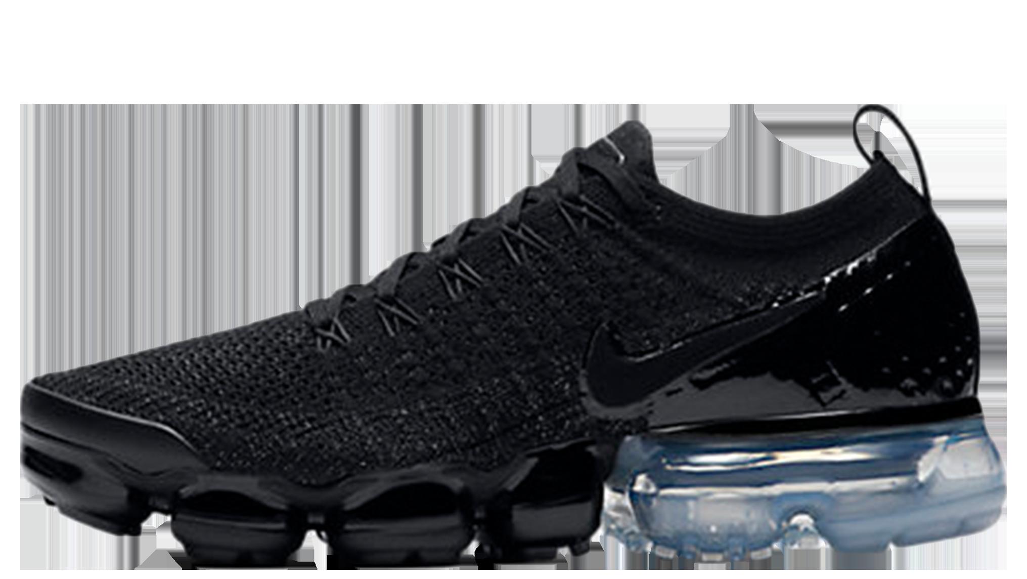 sports shoes ff8ce 8c4ea Nike Air VaporMax Flyknit 2 Black Metallic Silver   942843-014