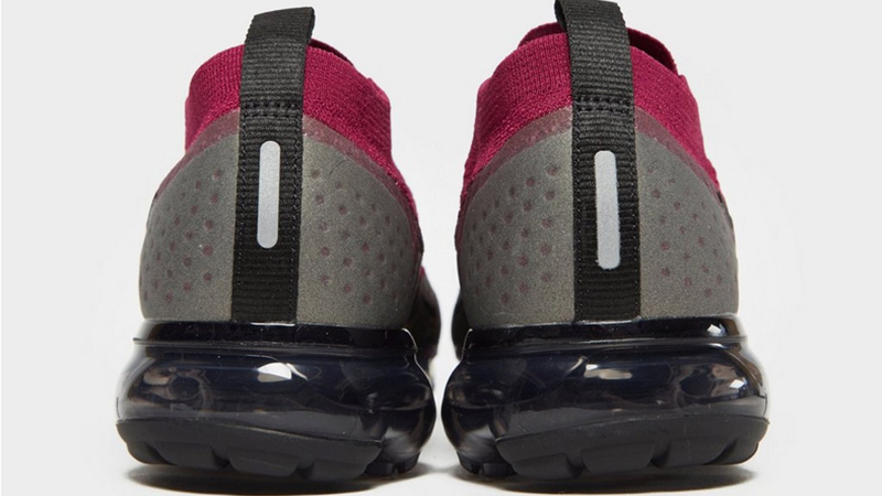 on sale a4d37 62efe Nike Air VaporMax Flyknit 2 Red Black Womens