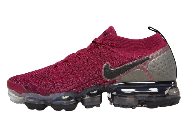 on sale d8211 9514d Nike Air VaporMax Flyknit 2 Red Black Womens