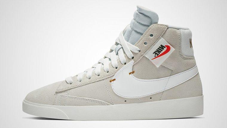 Nike Blazer Mid Rebel Beige Womens BQ4022-101 01 thumbnail image