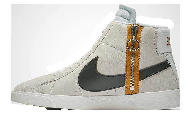 Nike Blazer Mid Rebel Beige Womens BQ4022-101