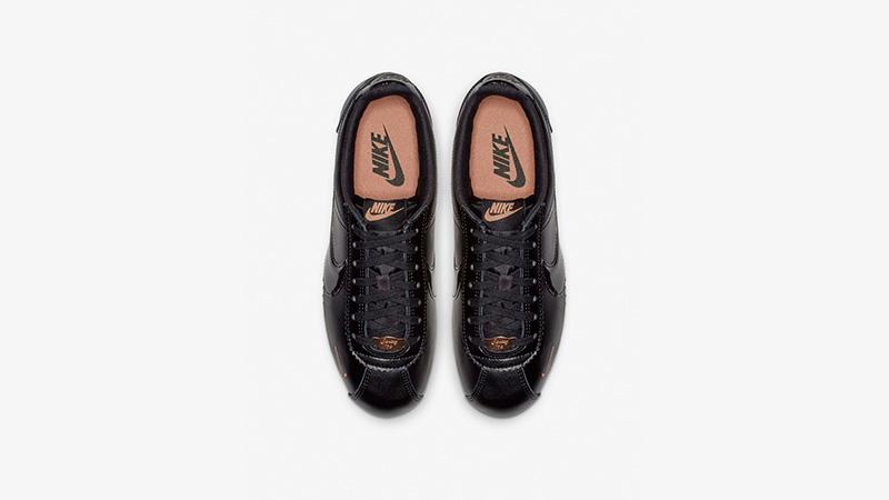 0f5eb347007e84 Nike Classic Cortez Premium Black Gold 905614-010 02