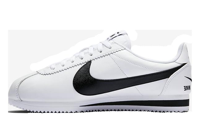 Nike Cortez Multi Swoosh White Black 807480-104