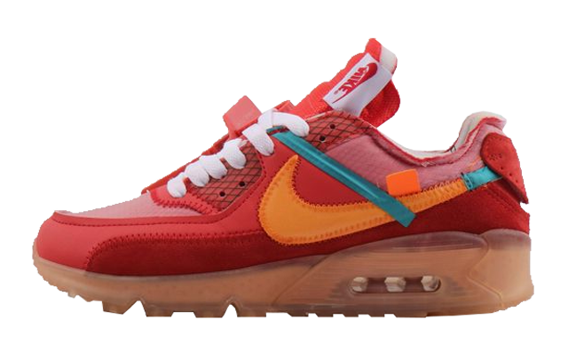 brand new 22dbc 362e7 Off-White x Nike Air Max 90 University Red | AA7293-600
