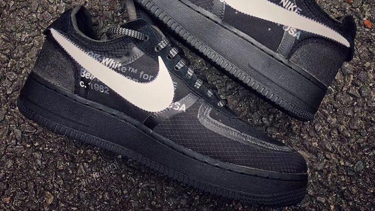 Off-White x Nike Air Force 1 Black | AO4606-001 thumbnail image