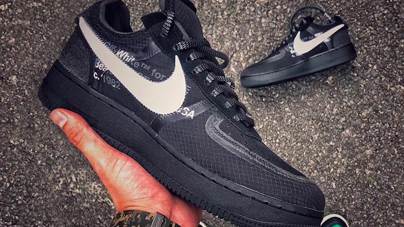 Off-White x Nike Air Force 1 Black | AO4606-001