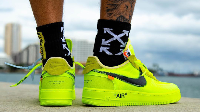 best prices thoughts on where can i buy Off-White x Nike Air Force 1 Volt | AO4606-700 | The Sole Womens