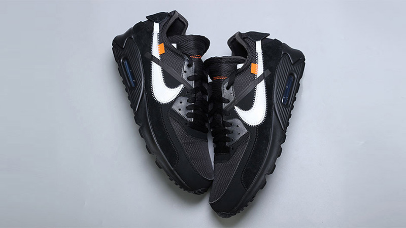 Off-White x Nike Air Max 90 Black 02