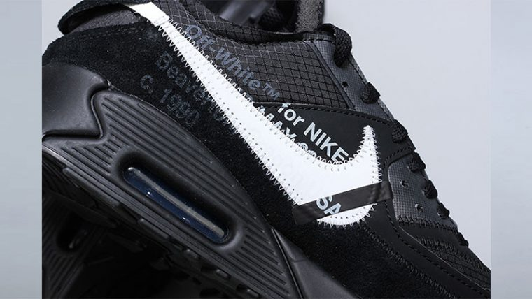 Off-White x Nike Air Max 90 Black 03