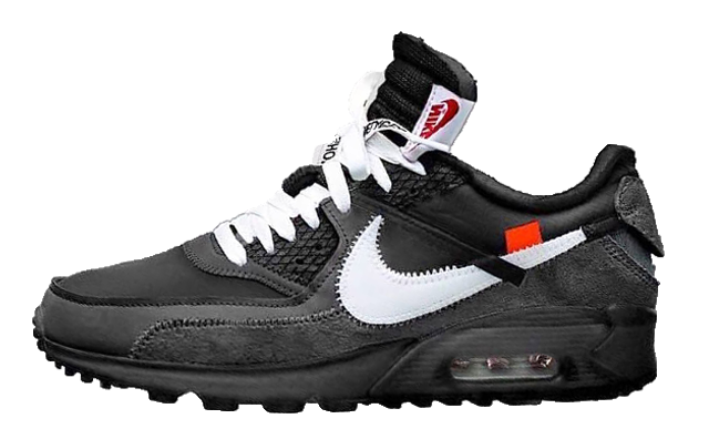 the latest 03a9b 4746b Off-White x Nike Air Max 90 Black