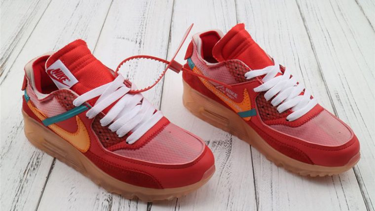 Off White x Nike Air Max 90 University Red | AA7293 600