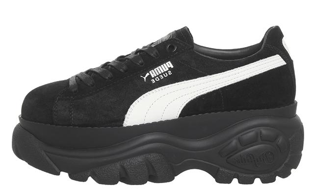 Puma Suede Buffalo Black | The Sole Womens