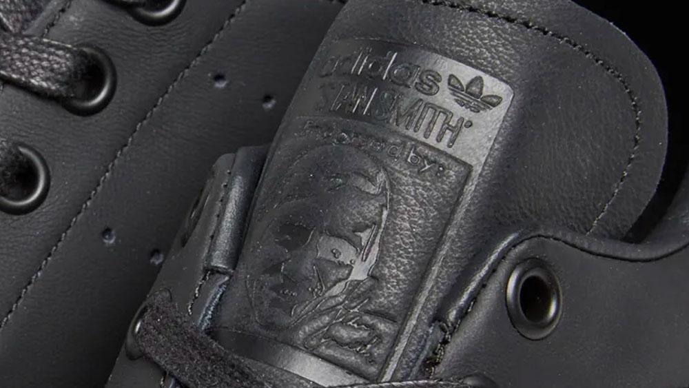 premium selection 3aa9d 48e1b adidas Stan Smith Bold Black Metallic Silver