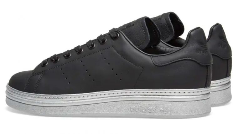 premium selection 3ef0e 129fd adidas Stan Smith Bold Black Metallic Silver