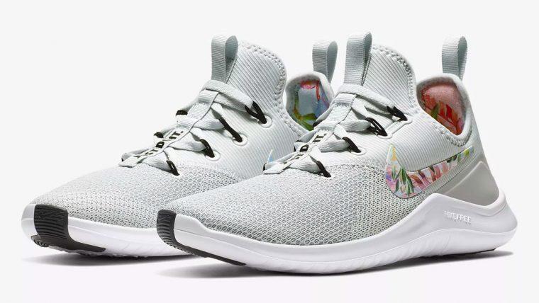 Nike Free TR 8 Print Floral White