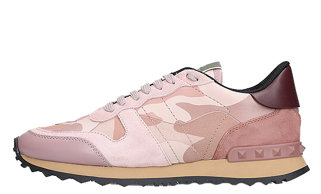 a8b94975d81a2 Be sure to head to the links on this page to shop the Valentino Rockstud Camo  Pink and don't forget to check out the other colourways! UK true DD/MM/YYYY
