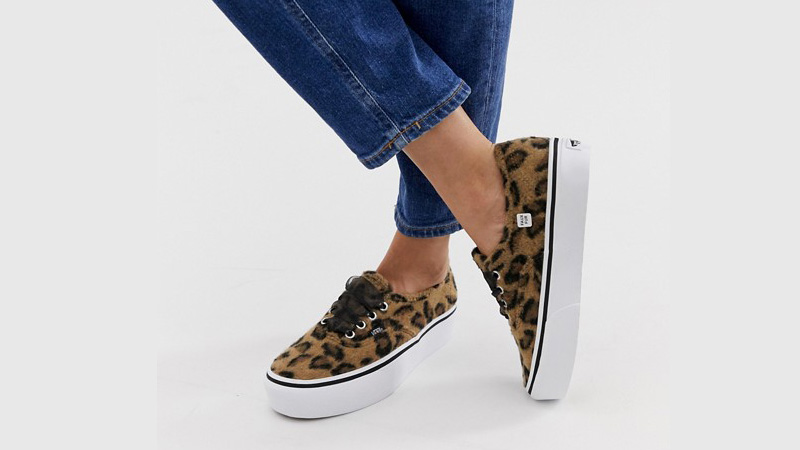 Vans Authentic Platform Leopard