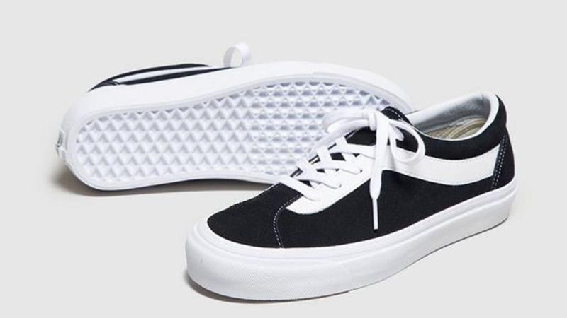 Vans Staple Bold Black White Womens VA3WLPOS7 03