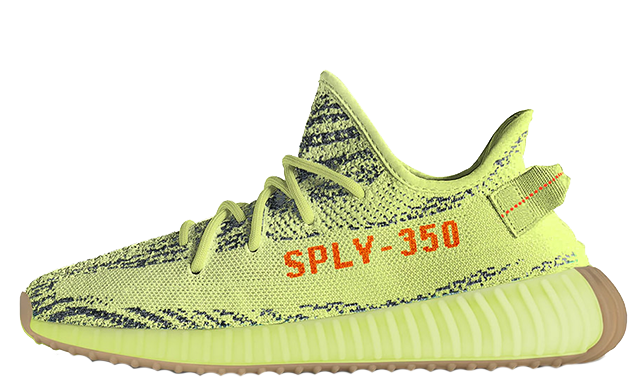 Yeezy Boost 350 V2 Semi Frozen Yellow | B37572