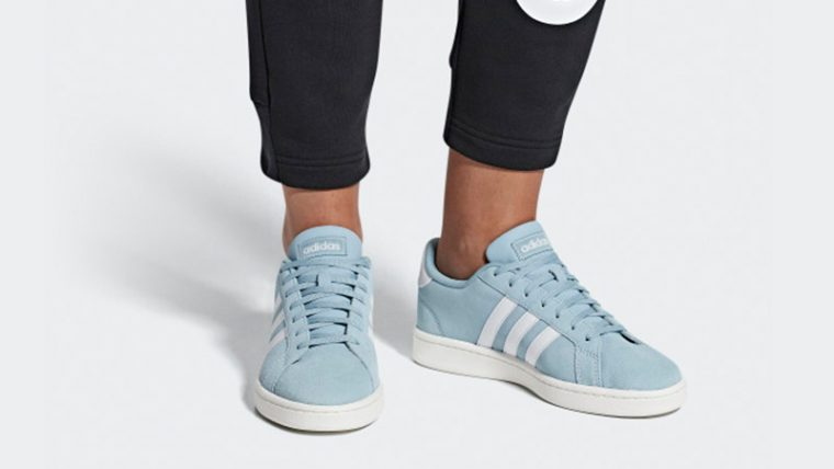 adidas Grand Court Blue F36499 04 thumbnail image