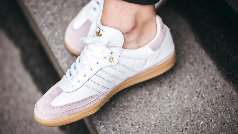 adidas Samba OG Relay White Pink | CG6097