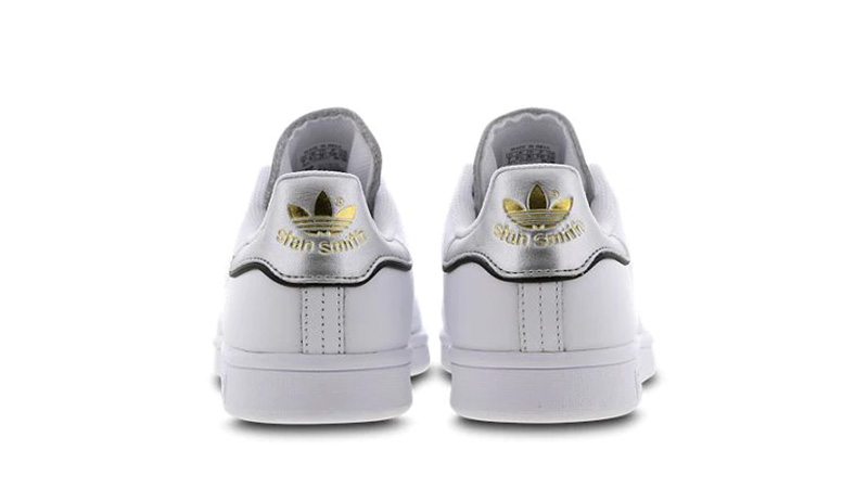 adidas Stan Smith White Metallic Womens F36795 01