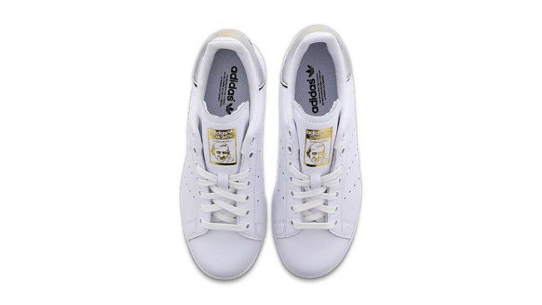 adidas Stan Smith White Metallic Womens F36795 02 thumbnail image