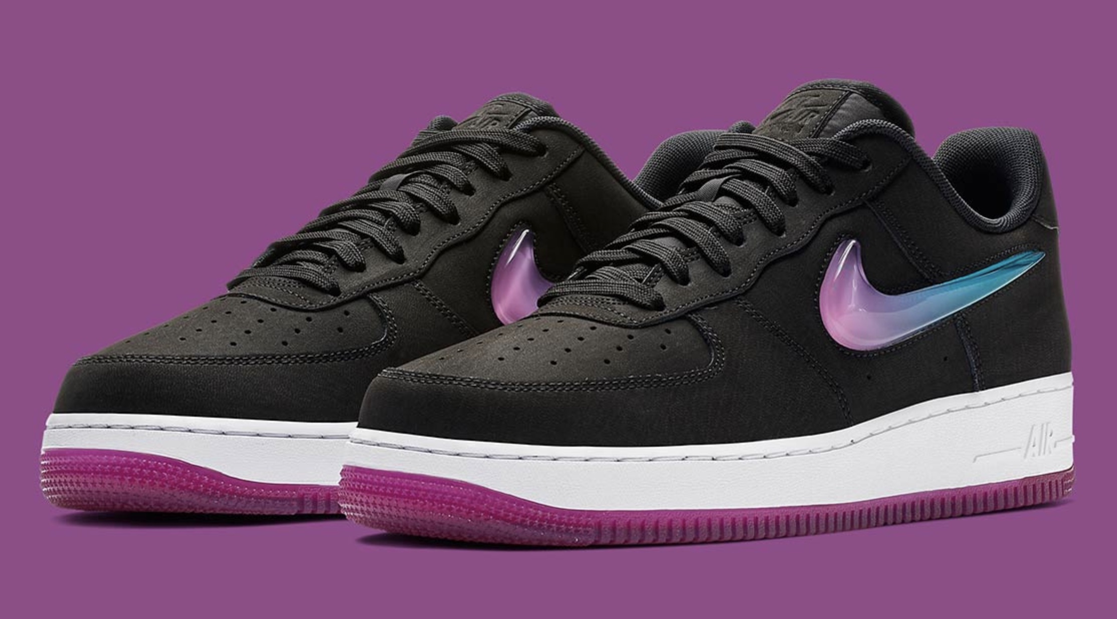 """Nike's Air Force 1 Gets An """"Active Fuchsia"""" Jewel Update"""