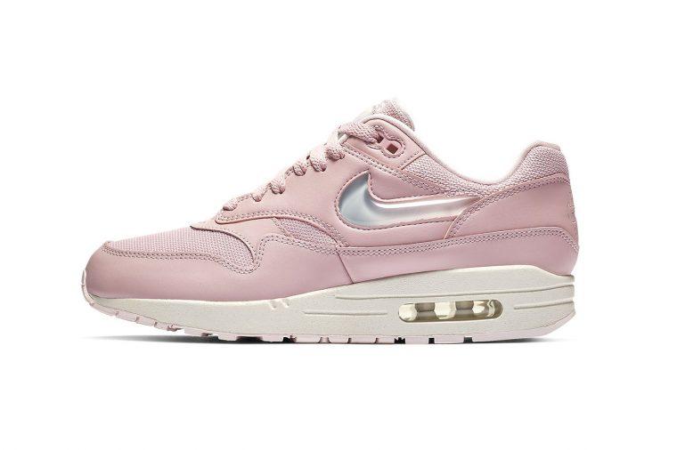 nike air max 1 pink jewel swoosh