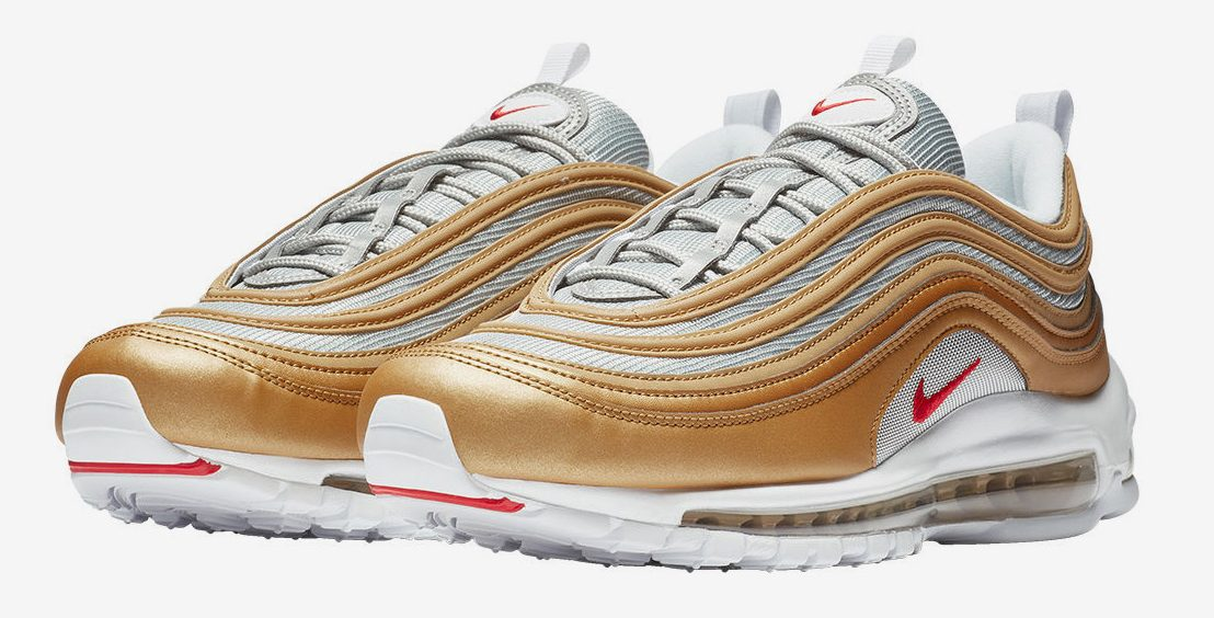 Metallic Aesthetics Continue On Nike's Latest Air Max 97