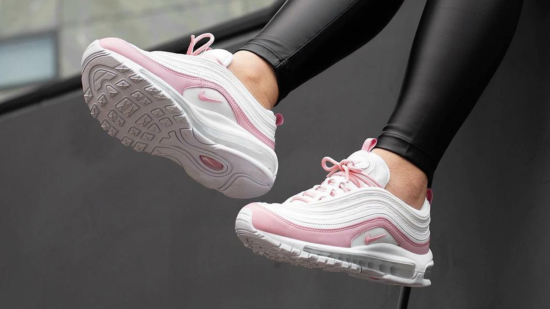 premium selection e5fa5 30ae5 Nike Air Max 97 Essential Psychic Pink   BV1982-100   The Sole Womens
