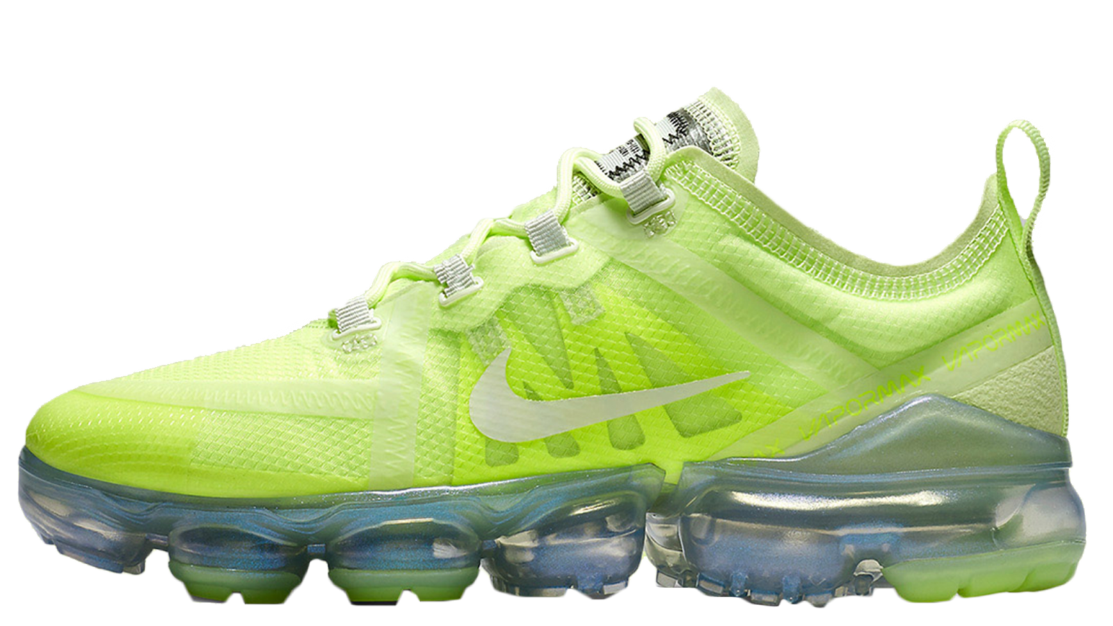san francisco e4b8f eb2f1 Hit the links on this page to shop the Nike Air VaporMax 2019 Volt Glow  today! UK true DD MM YYYY