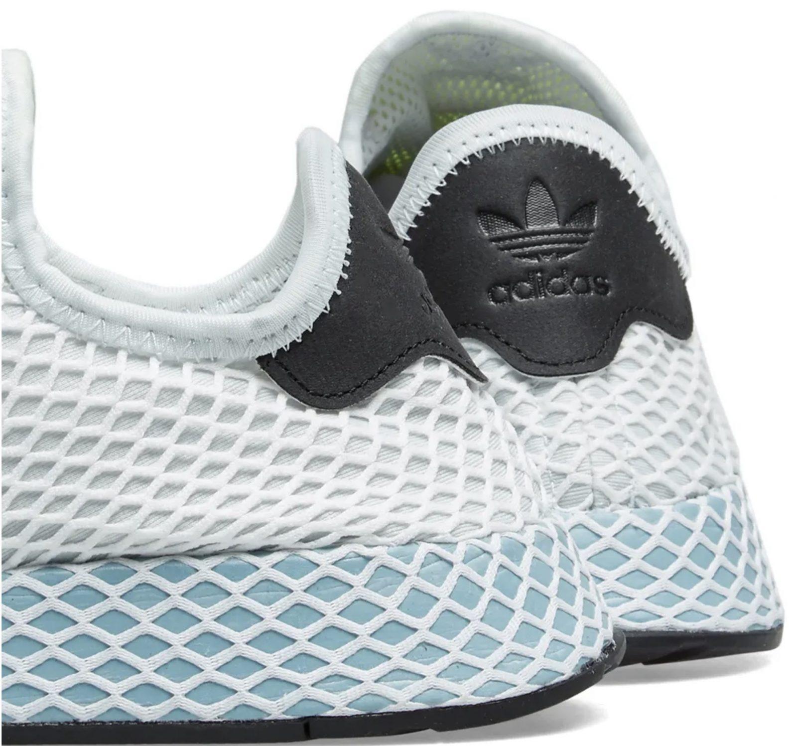197a25602fbfb adidas Deerupt Runner Womens Blue Tint