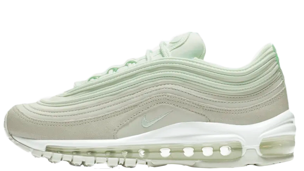 9cdf69607b You can cop a pair of these Nike Air Max 97 Premium in Barely Green/Spruce  Aura/Barely Green from the suppliers listed on this page - go check them  out!