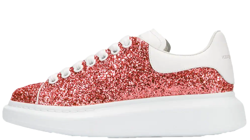 Alexander McQueen Glitter Coral