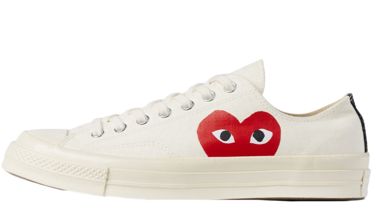 Comme des Garcons Play x Converse Chuck Taylor All Star 70 Low White