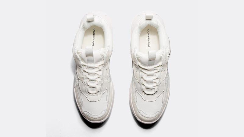 Calvin Klein Jeans Maya Mesh White Womens 02