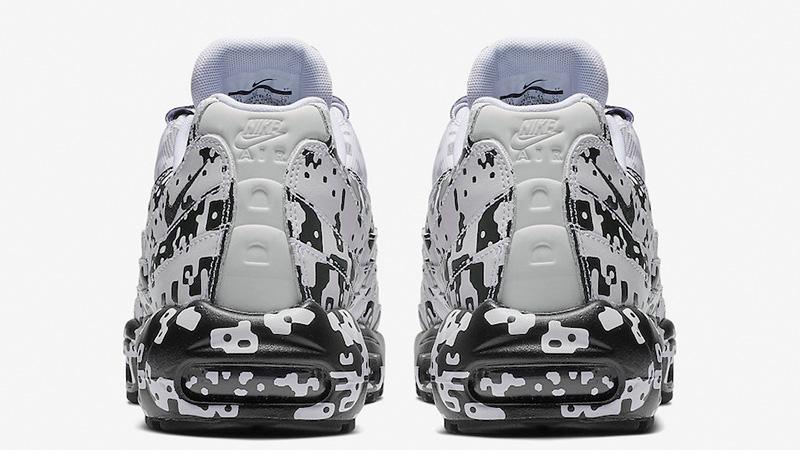 055513963d Cav Empt x Nike Air Max 95 White Black | AV0765-100 | The Sole Womens