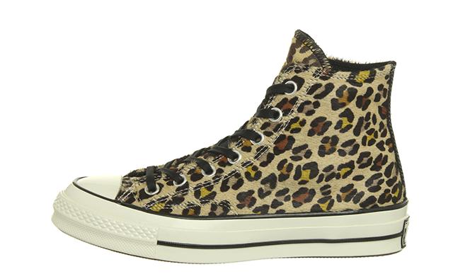 Converse All Star Hi 70 Leopard Black