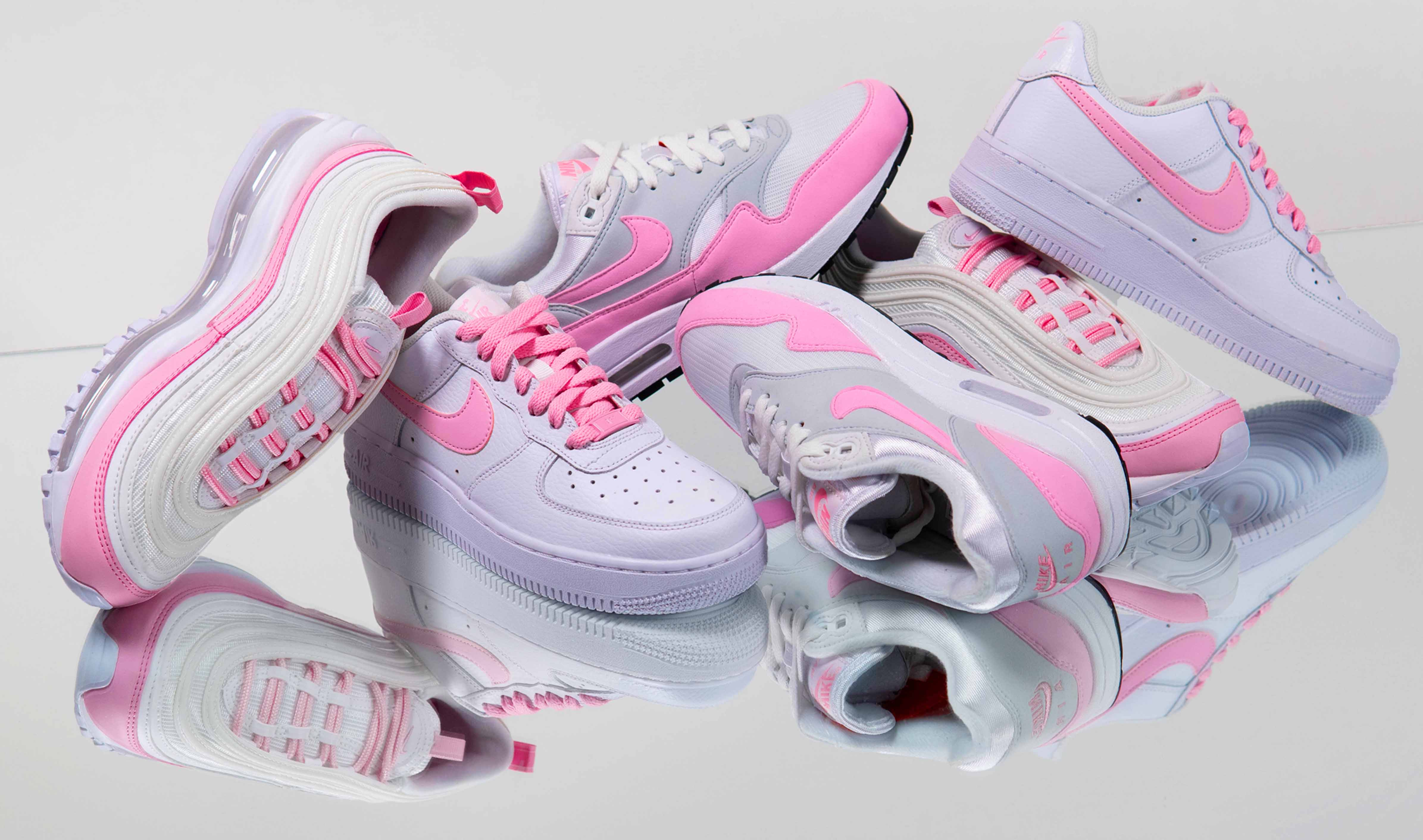 7f64af3bb An Exclusive Closer Look At Nike's 'Psychic Pink' Pack | Style ...