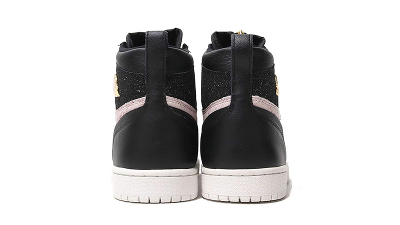 7aa263bb3b201e Jordan 1 Retro High Zip Black Pink AQ3742-001 01
