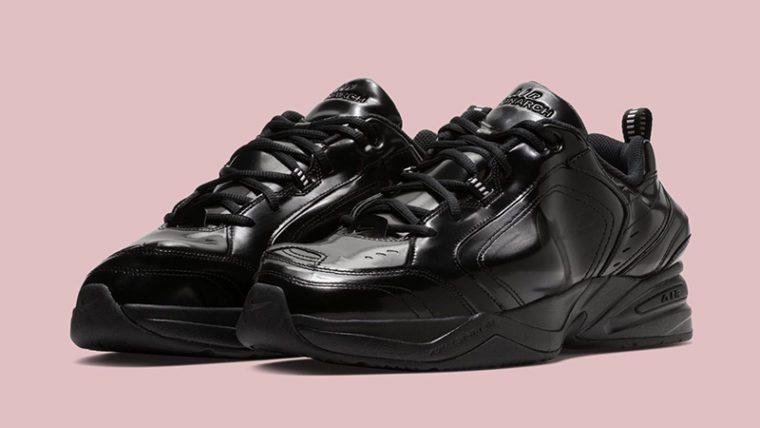 Martine Rose X Nike Air Monarch IV Black | AT3174 001